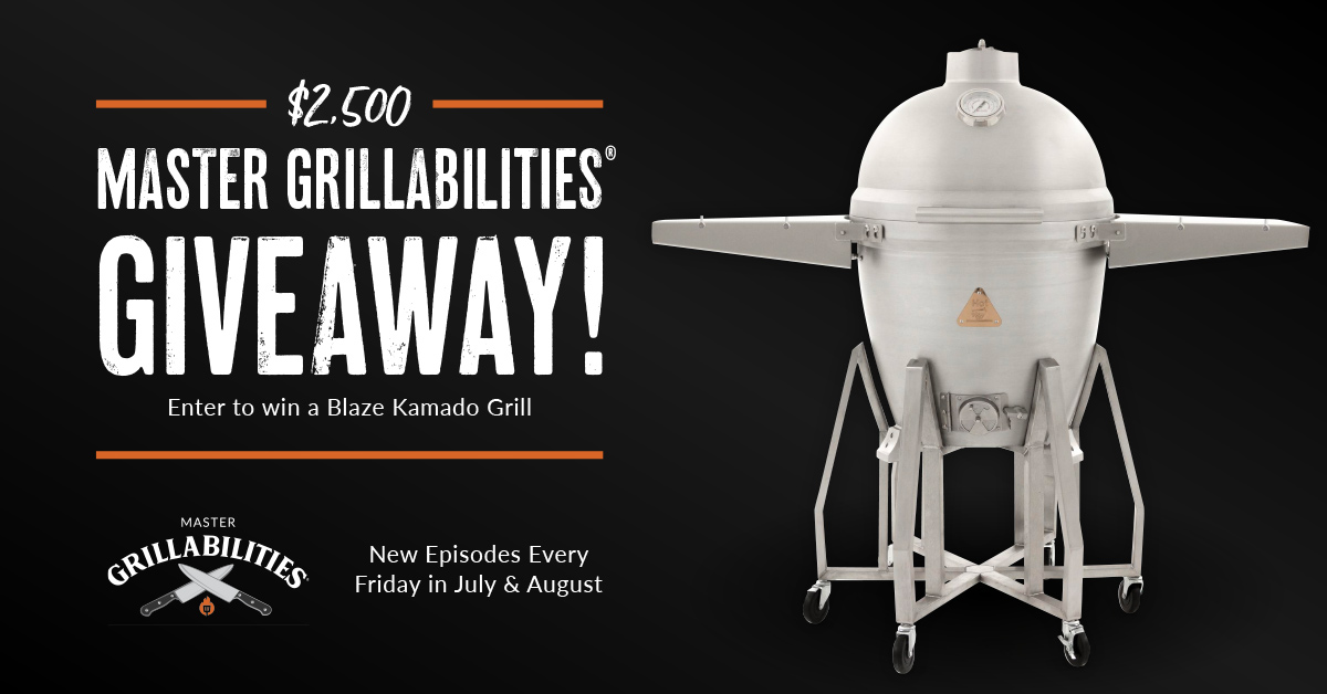 BBQ Guys Master Grillabilities Giveaway 2021-08-12