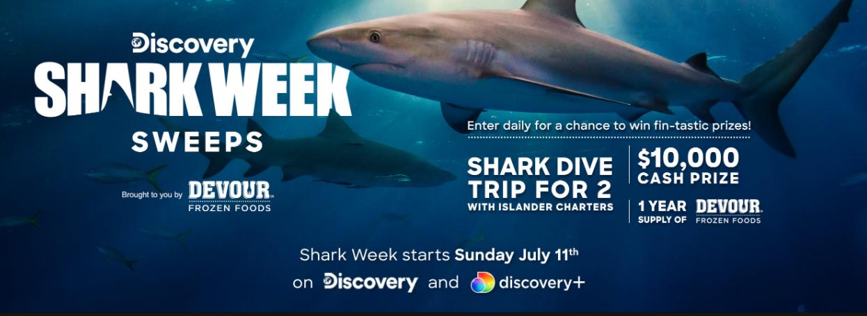 Discovery Shark Week Sweeps 2021