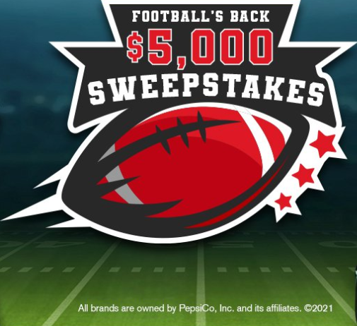 Football is back $5000 contest