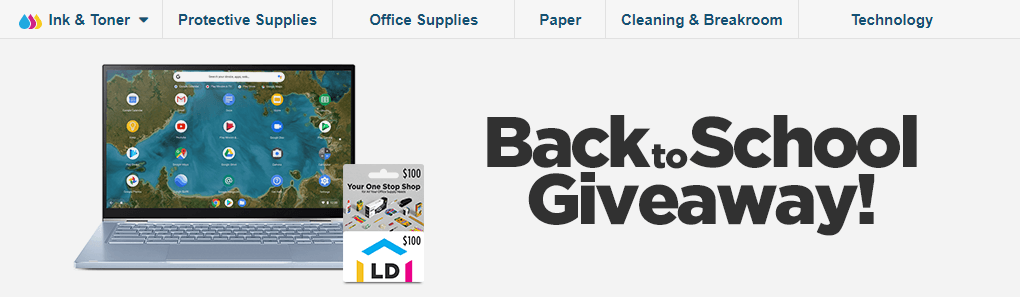 LD Products Back to School Giveaway 2021-07