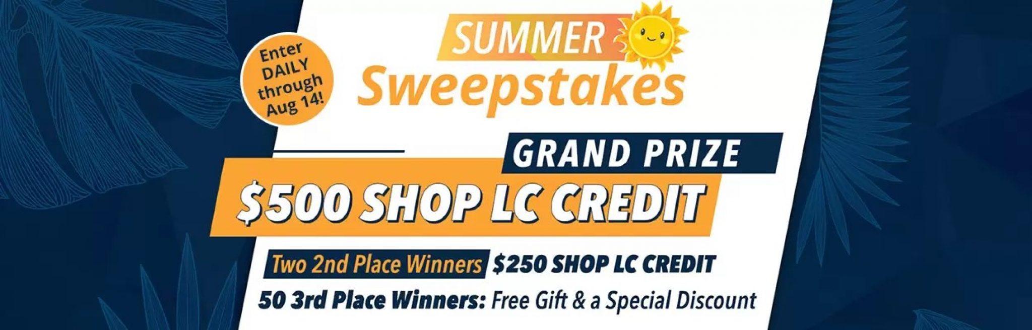 ShopLC End of Summer Giveaway - 2021-08-14 ...