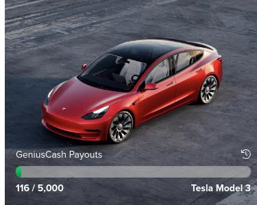 Creditcardgenius Tesla Car Giveaway 2022-05-31
