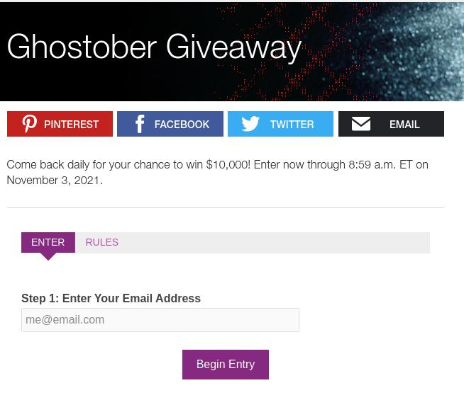 Ghostober Giveaway 2021-11-03