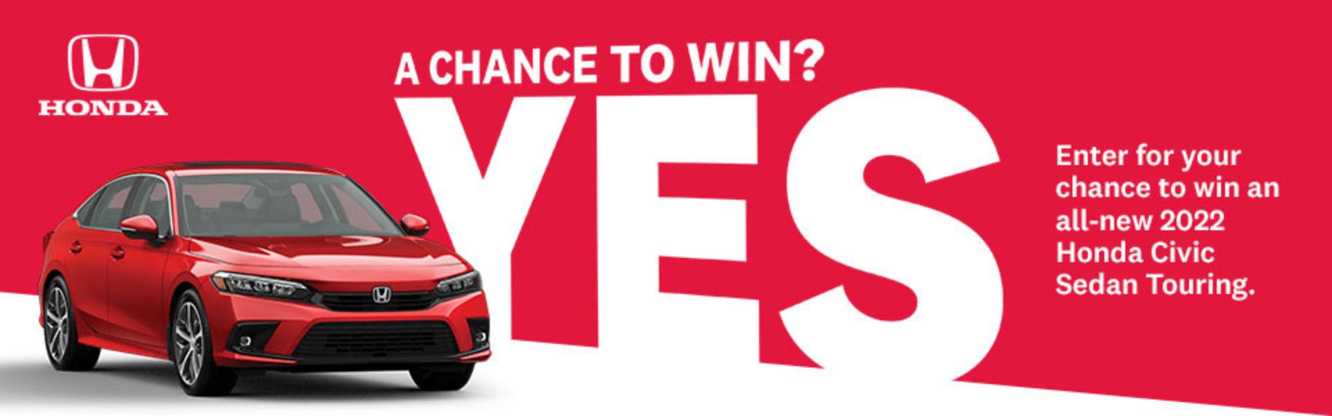 Honda Civic contest 2022-04-30