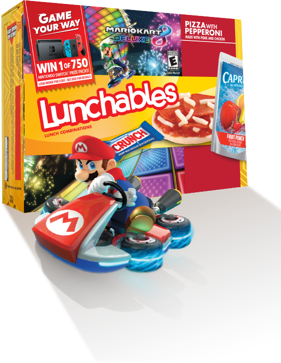 Lunchables Code Entry Instant Win 2021-12-31